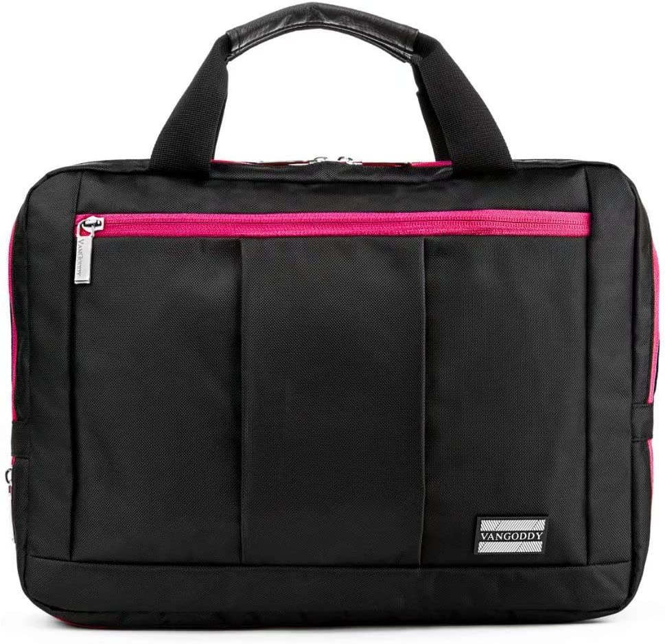 Hybrid Laptop Computer Shoulder Bag for Dell Latitude, Inspiron, 11.5in Devices