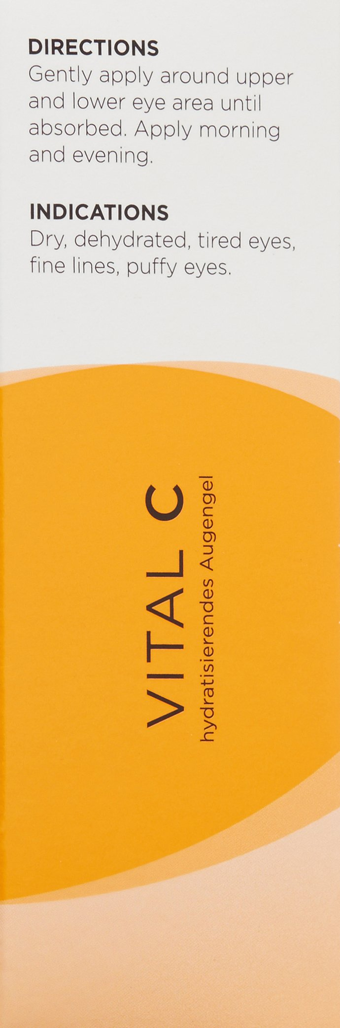 Image Skincare Vital C Hydrating Eye Recovery Gel With Sct Fresh