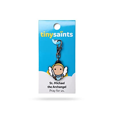 Tiny Saints St. Michael the Archangel Charm: Toys & Games