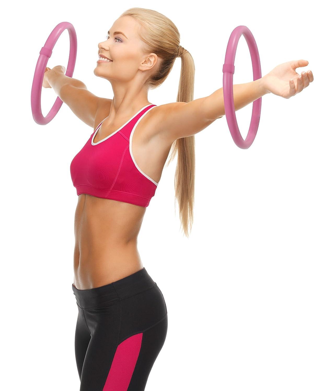 Hoopomania Arm Hoop Mini Hula Hoop Set mit Schaumstoff/überzug 2-teilig je 0,25kg
