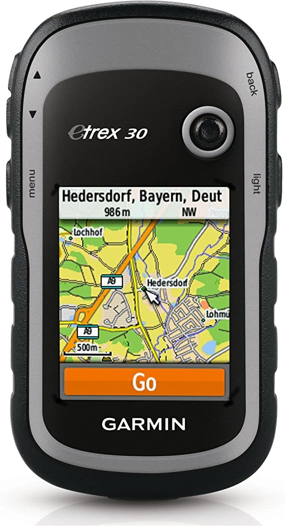 Garmin eTrex 30 Worldwide Handheld GPS Navigator (Renewed)