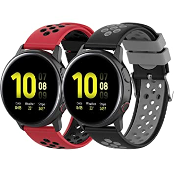Yikamosi Compatible with Samsung Galaxy Watch Active 2, Soft ...