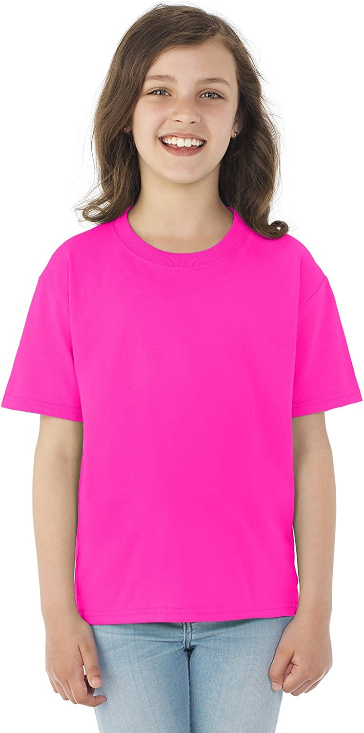 Fruit of the Loom Unisex-child Cotton T-Shirt