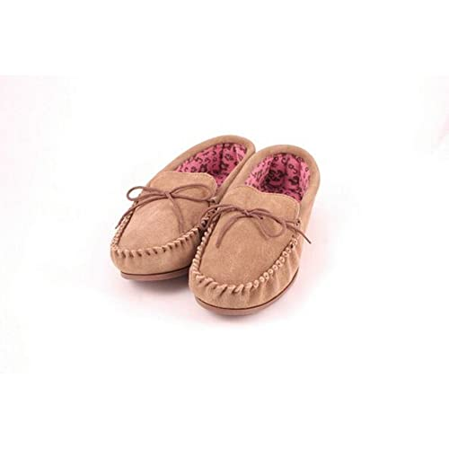 Eastern Counties Leather - Mocasines con Forro de Tela para Mujer (36/Camel)