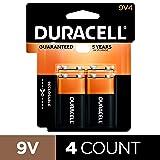 Duracell - CopperTop 9V Alkaline Batteries - long
