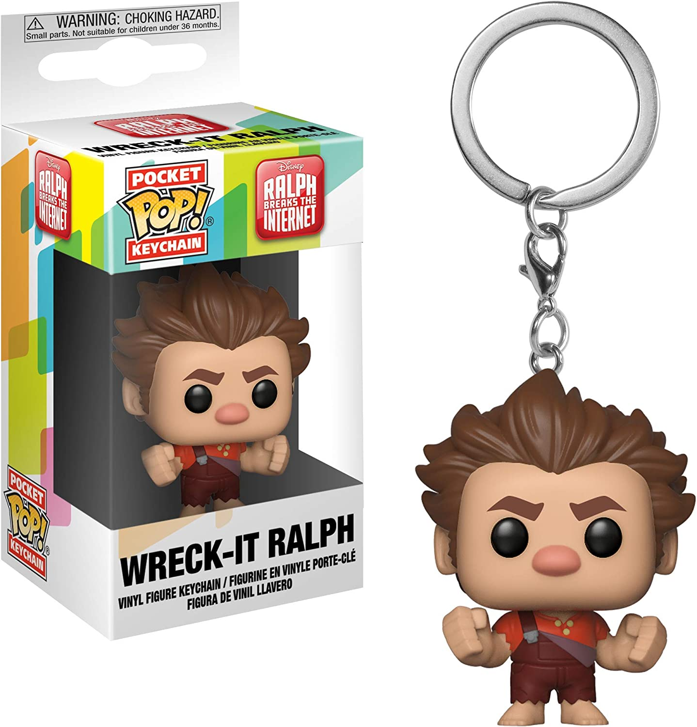 Funko Pop Keychain: Wreck-It Ralph 2 Toy, Multicolor
