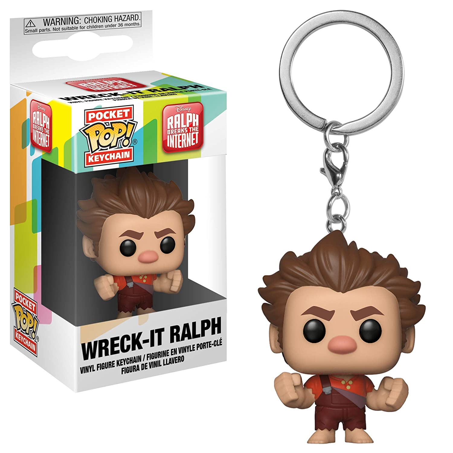 Funko – Llavero Pop.Color Disney Color Wreck-It-Ralph 2 Color PPK 1,, 33421