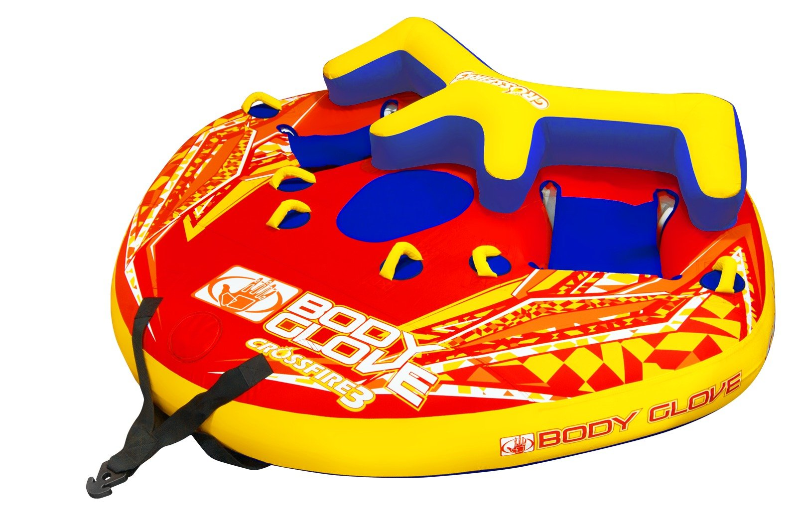 Body Glove 15542 Cross Fire 3 Inflatable 3 Person Towable by jetpilot