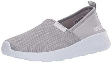 low priced 08a3a 53cc5 adidas Women s lite Racer Slip on w Fashion Sneaker, Clear Light Onyx White,