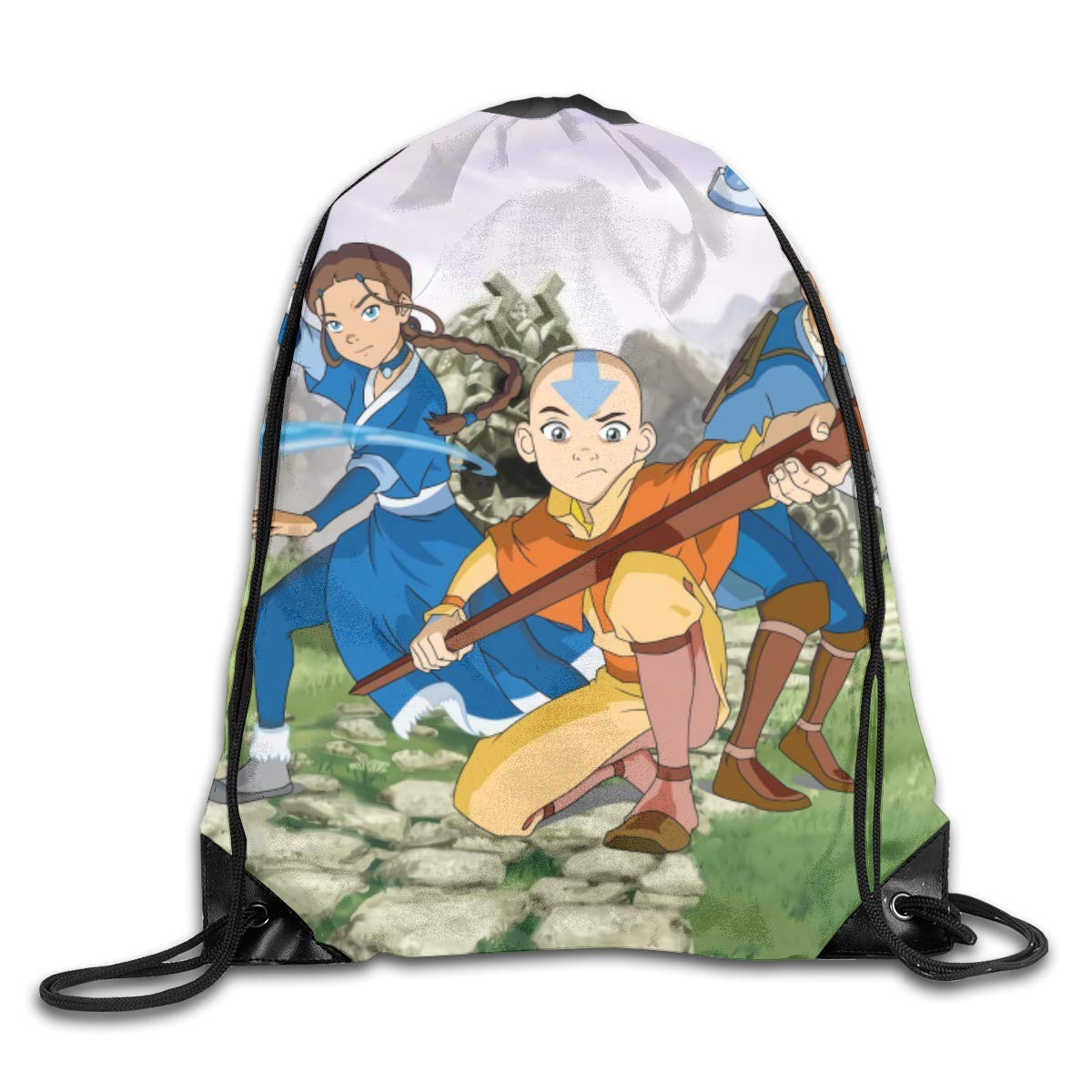 CAOI UUC Avatar-The Last Airbender Gym Drawstring Backpack Bags