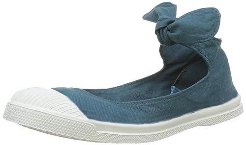Bensimon Tennis FLO Pat, Zapatillas para Mujer, Azul (Canard 529), 38 EU: Amazon.es: Zapatos y complementos