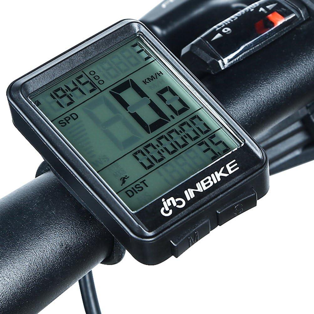 VORCOOL Wireless Bicycle Speedometer Bike Odometer Bike Computer for MTB Road Bicycle