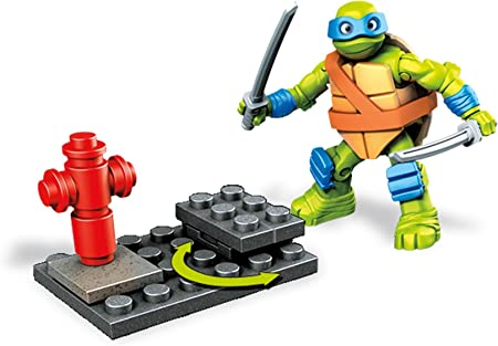 Amazon.com: Mega Bloks teenange Mutant Ninja Turtles Leo ...