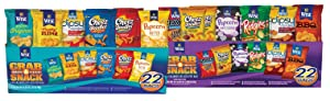 Wise Snacks Grab & Snack Variety Bundle, Original and Flavor Mixes (44 Count), Gluten Free