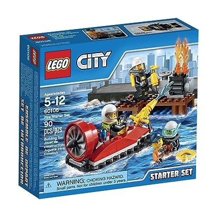 Amazon Com Lego City Fire Starter Set 60106 Toys Games