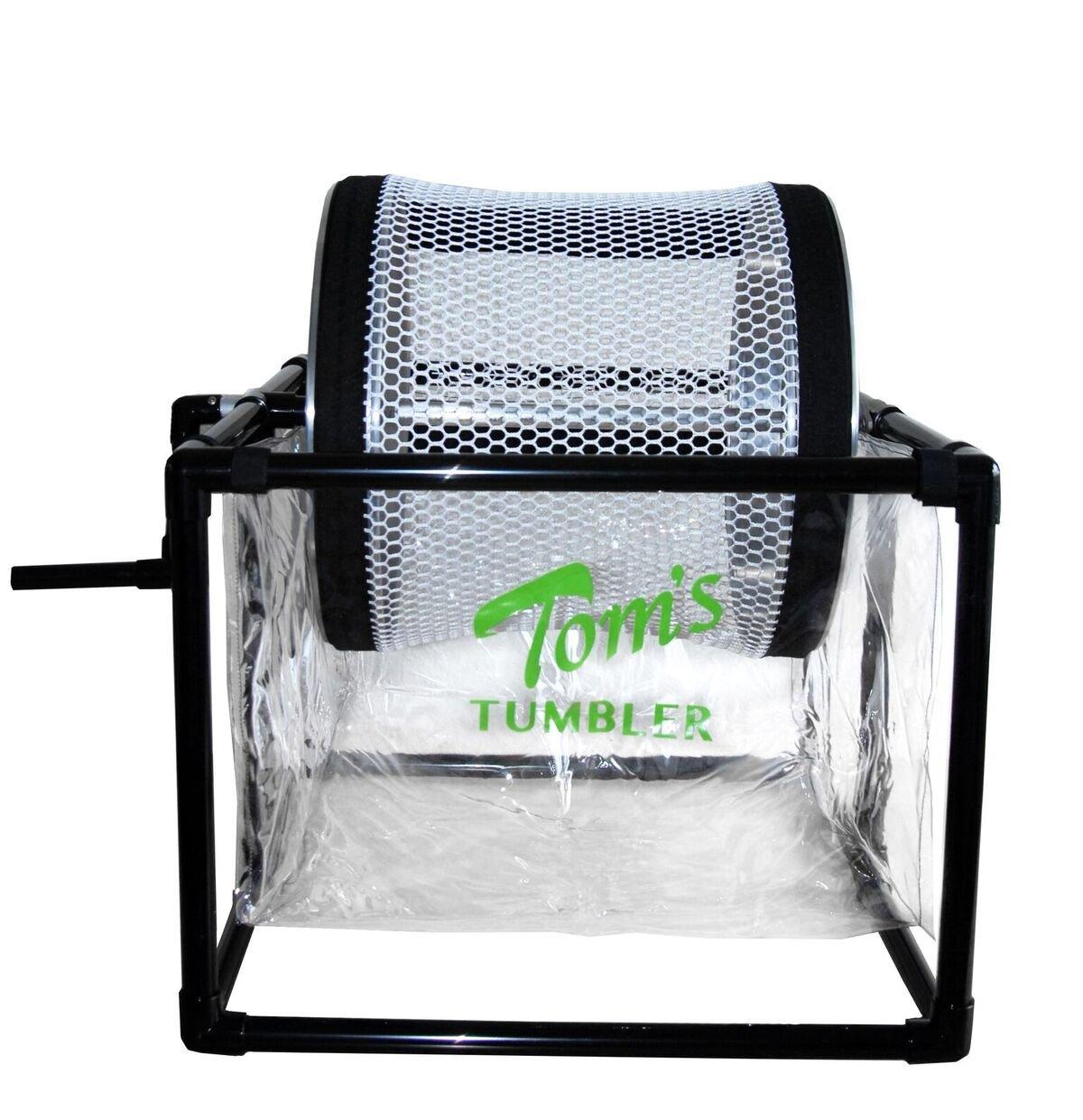 Tom's Tumbler TTT 1600 Hand Crank Table Top Dry Trimmer