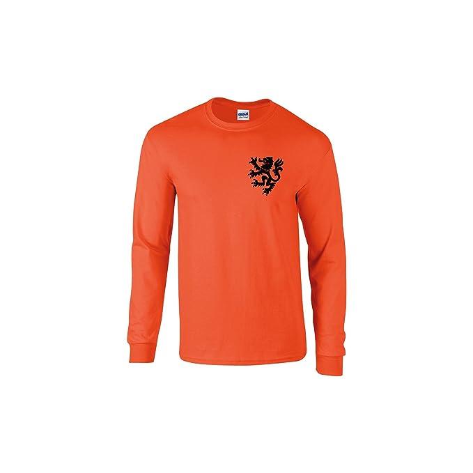 Simplicitees - Camiseta - para Hombre Naranja Naranja M