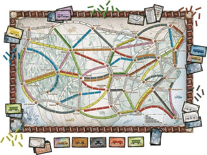 Days of Wonder Ticket to Ride - USA Niños Estrategia - Juego de ...