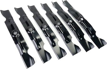 """Set of 3 Mulching Blade 50/"""" MTD Cub Cadet 1550 Troy-Bilt 942-04053A RZT Series"""