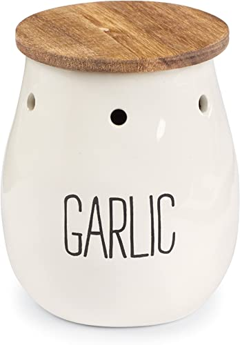 Mud Pie Garlic Storage Keeper