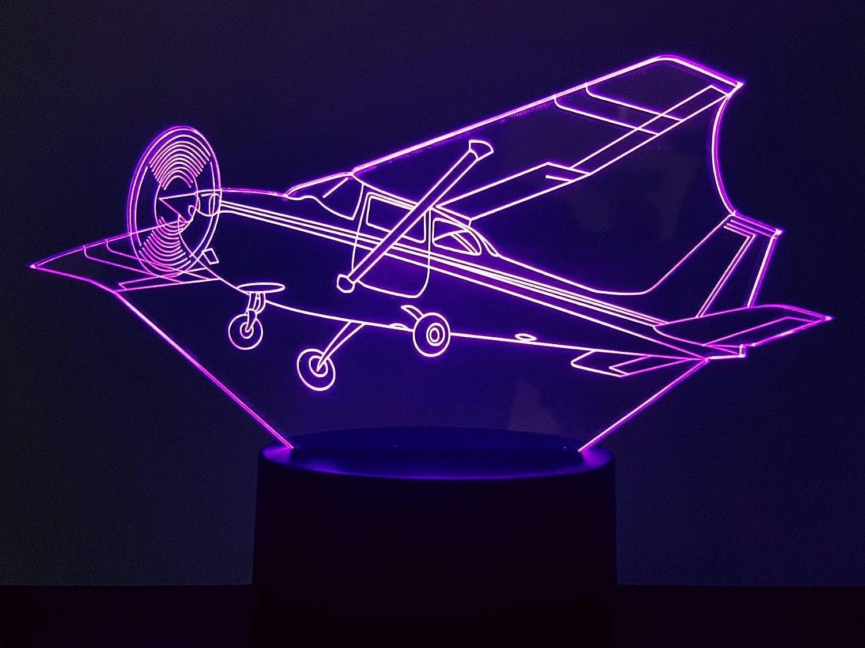 Avion CESSNA, lampe 3D à LED lampe 3D à LED