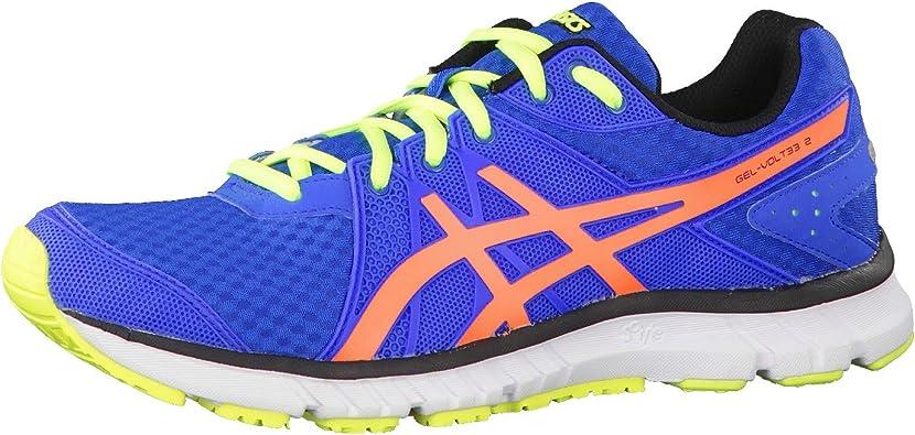 ASICS Gel-Volt33 2 Zapatilla de Running Caballero, Azul/Naranja, 40: Amazon.es: Zapatos y complementos