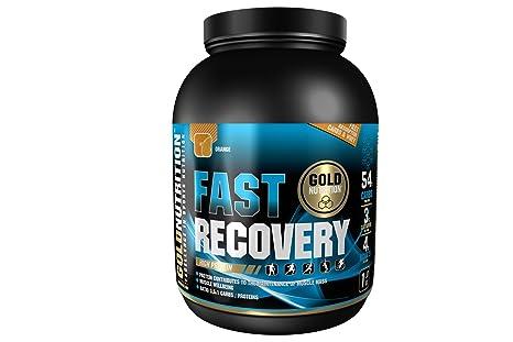 GoldNutrition Fast Recovery Recuperador, Sabor Naranja - 1000 gr