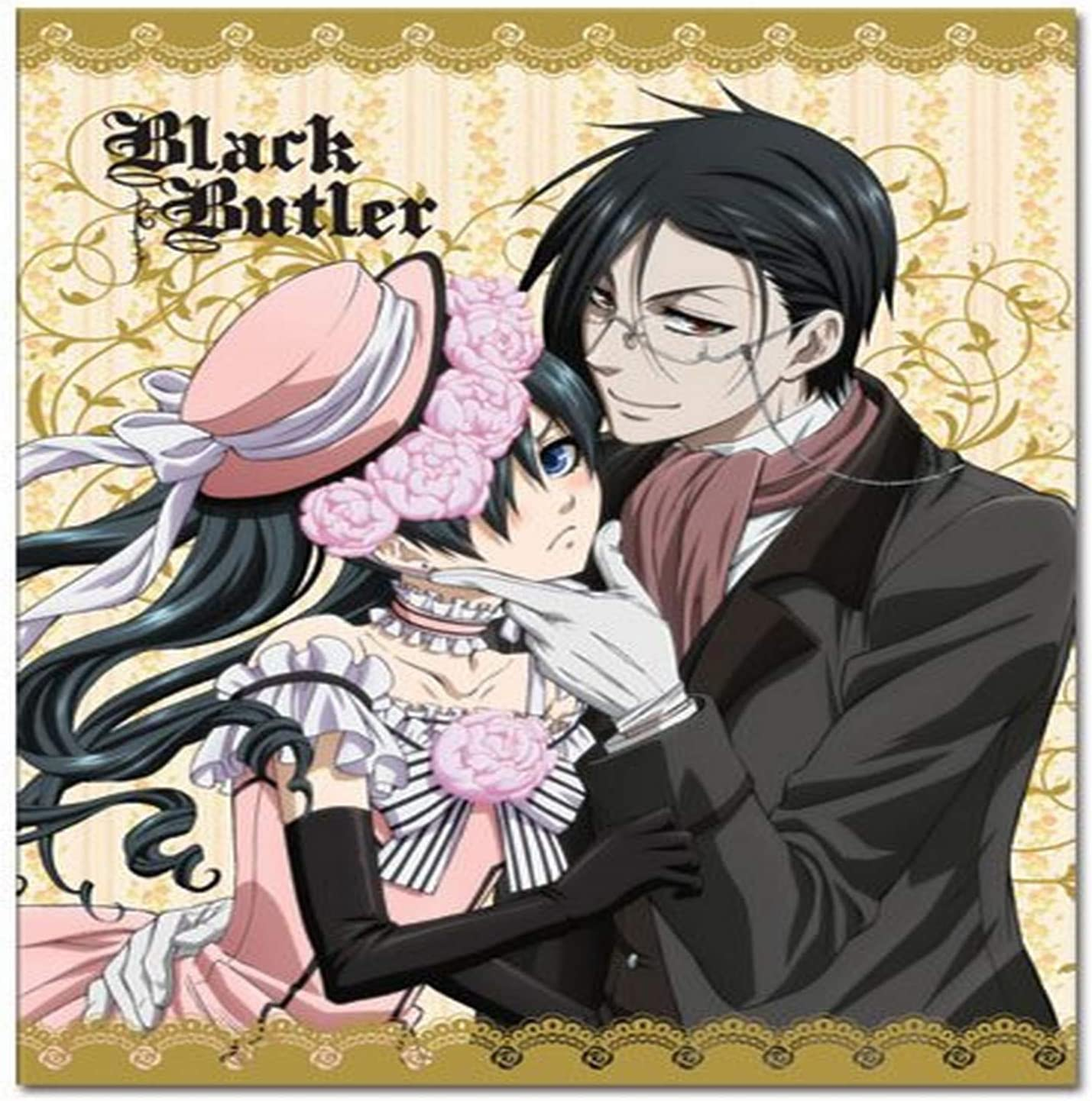 CIEL/& Sebastian Sublimation Throw Blanket One Size Muti//Colored Great Eastern Entertainment 57684 Black Butler
