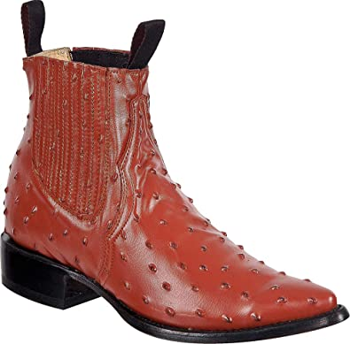 Western Shops Mens Leather Cowboy Boots