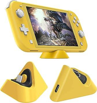 Base de Carga para Nintendo Switch Lite, estación de Carga Triangular portátil, Soporte de Soporte Estable con Puerto Tipo C Compatible con Nintendo Switch Lite/Nintendo Switch: Amazon.es: Electrónica