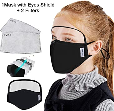 Anti Pollution Face Breathable Protective Sports for Running Cycling Outdoor Activities,50pcs Disposable 3-Ply Dustproof