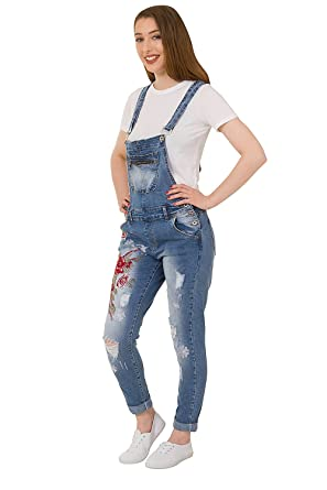 Zara Denim Baisx Dungaress With Pockets To Rank First Among Similar Products Jumpsuits & Playsuits