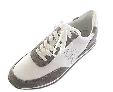 46393262493ff Michael Kors Stanton Trainer Suede Tennis Shoe
