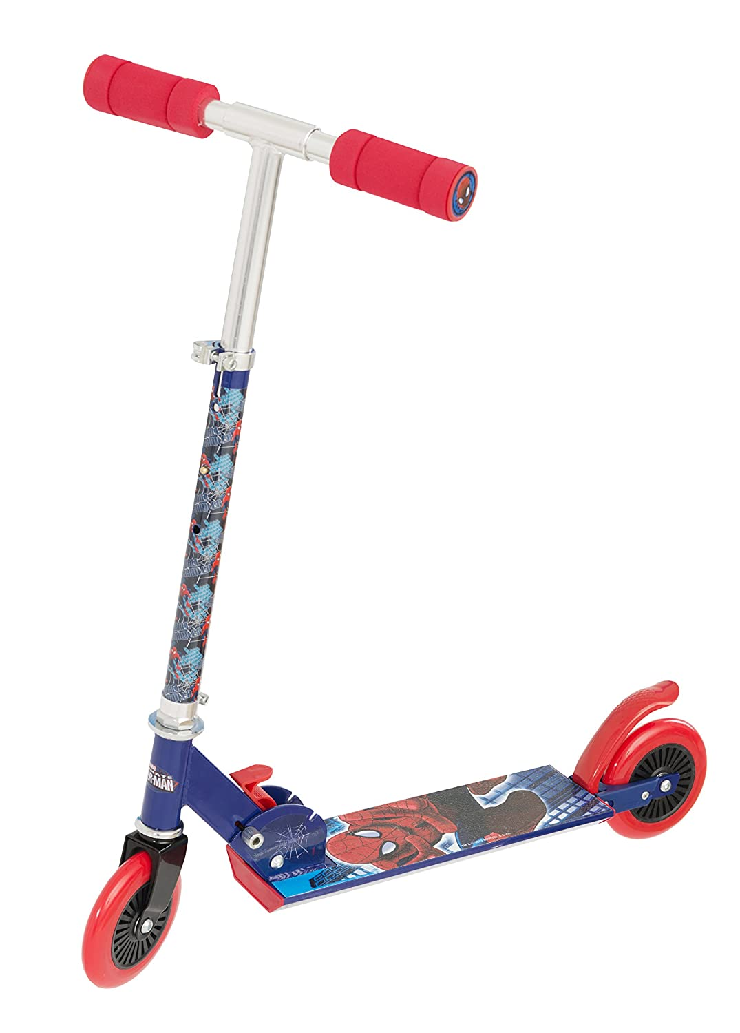Ultimate Spiderman Folding Scooter