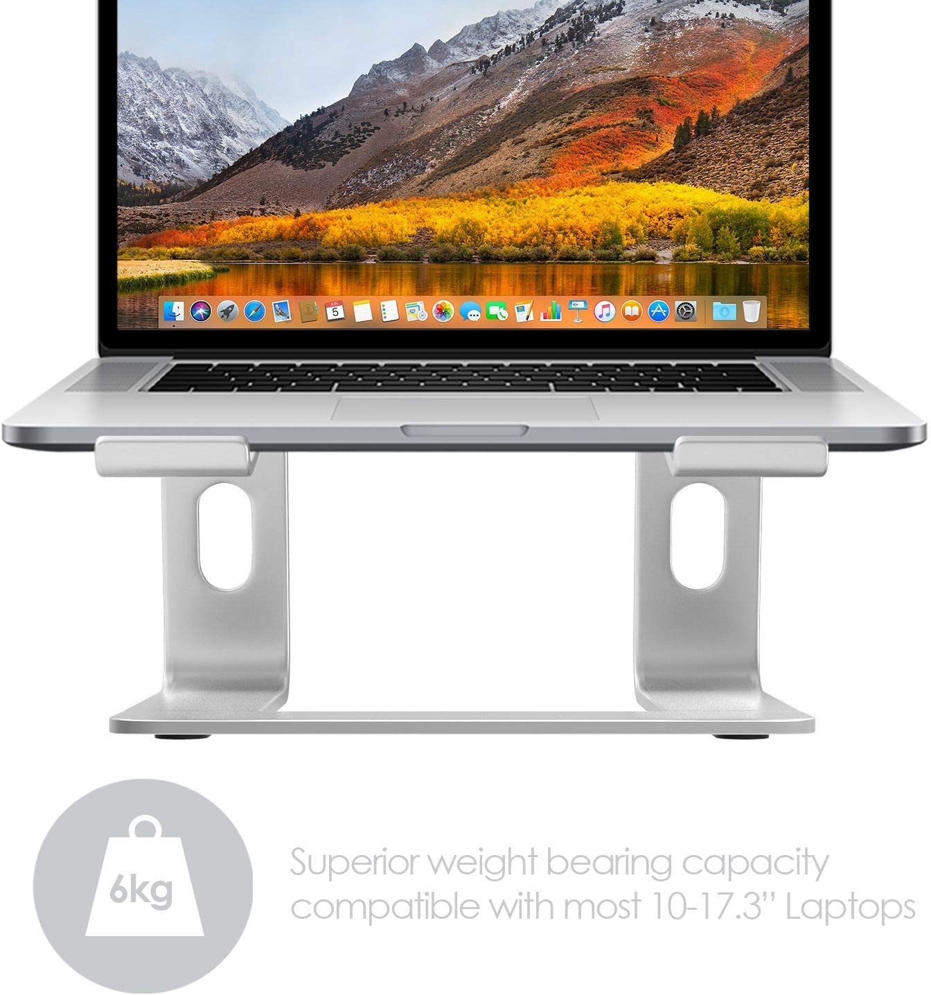 Desire2 View My Screen At Home Adjustable Elevator Riser Desk Stand For Macbooks Notebooks and Laptops