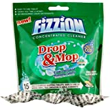 Fizzion Drop & Mop Home Concentrated Mopping Tablets 15 Tablets Makes 270oz