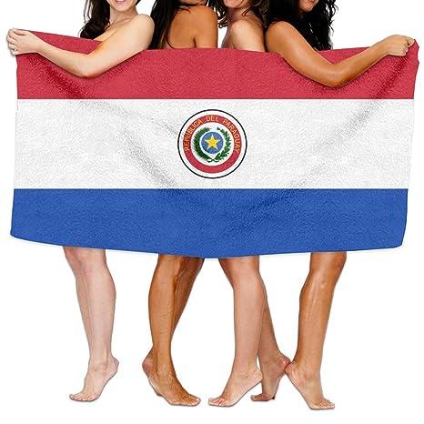 """UKBaby - Toalla de Playa, Diseño de Bandera Nacional de Paraguay; 80"""" x"""