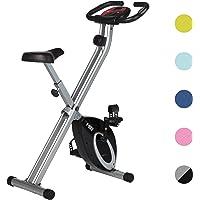 Ultrasport F-Bike, fietstrainer, hometrainer,fitnessfiets, opvouwbare fitnessfiets met trainingscomputer en…