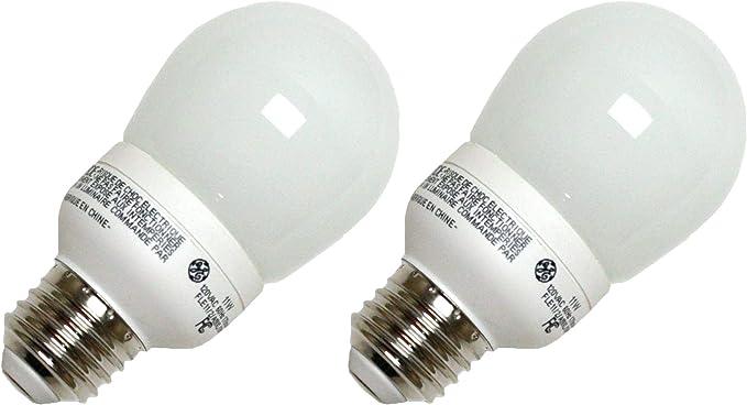 GE 89622 FLE11//2//A19XL Pear A Line Screw Base Compact Fluorescent Light Bulb 10 Bulbs