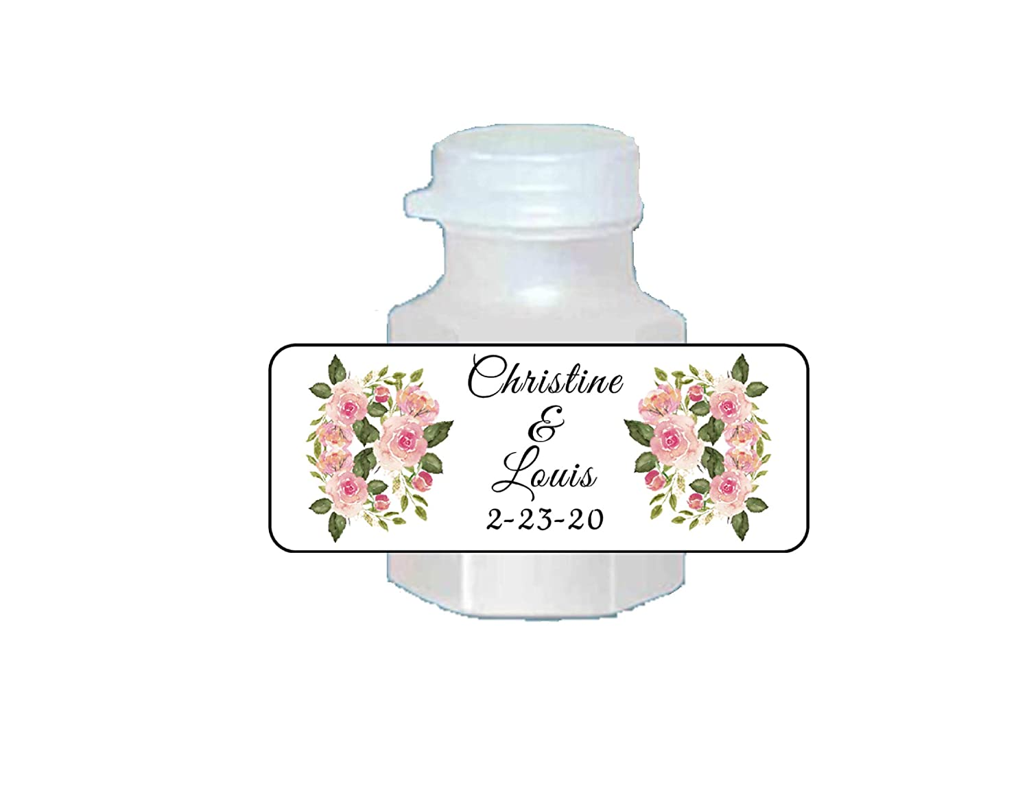 120 BEAUTIFUL Fleur De Lis Mini Bubble labelsstickers Personalized for Wedding Birthday or any PartyEvent Make your own cute favors!