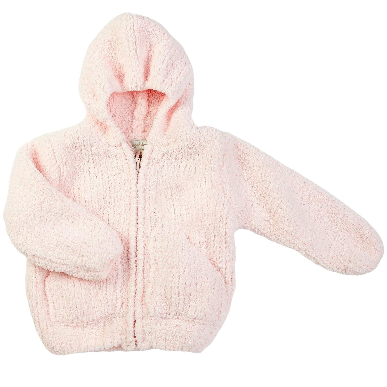amazon com angel dear baby girls u0027 fleece zip hoodie baby