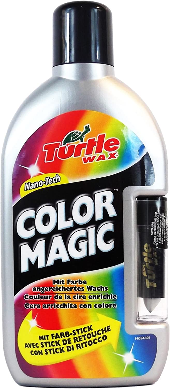 Turtle Wax Fg6398 Color Magic Plus Politur Silber 500 Ml Auto