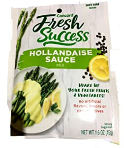 Concord Hollandaise Sauce, 1.6-Ounce Pouches (Pack of 18 )