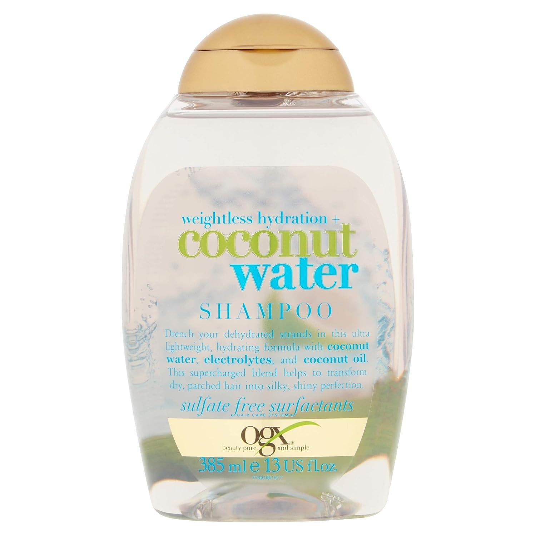 OGX Coconut Water Shampoo, 1er Pack (1 x 385 ml) 97431