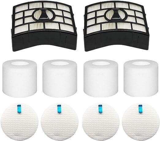 Foam /& Felt Filters for Shark NV650 Rotator Lift-Away Vacuum XFF650