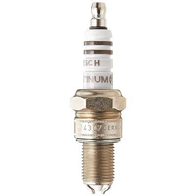Bosch (4307) WGR9DDP Platinum + 2 Spark Plug, (Pack of 1): Automotive