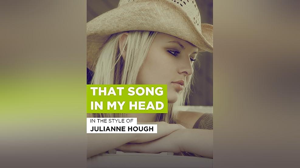"""That Song In My Head im Stil von """"Julianne Hough"""""""