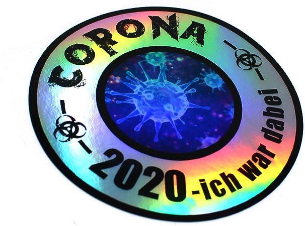 Finest Folia Virus Sticker Fun Sticker Hologram Sticker For Car Motorcycle Laptop Fridge Window Self Adhesive Auto