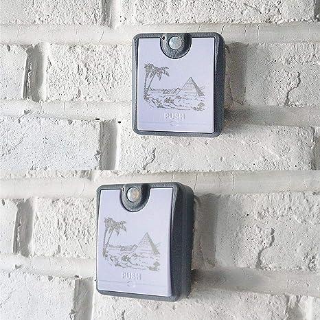 Switch Panel Light/Human Body Induction LED Multi-Function Corridor ...