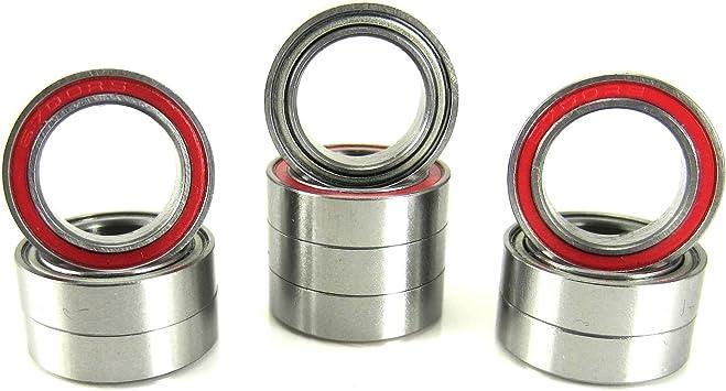 TRB RC 10 12x18x4mm Precision Ball Bearings ABEC 3 Rubber Seals YE